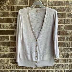 Mossimo Womens Button Up Long Sleeves Cardigan